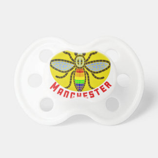 Manchester Bee Pacifier