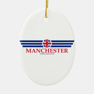 Manchester Ceramic Ornament