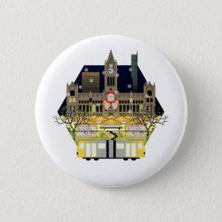 Manchester Christmas Markets 2 Inch Round Button