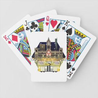 Manchester Christmas Markets Bicycle Playing Cards