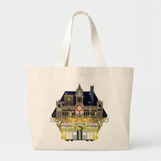 Manchester Christmas Markets Large Tote Bag