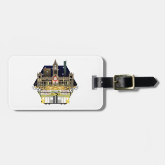 Manchester Christmas Markets Luggage Tag