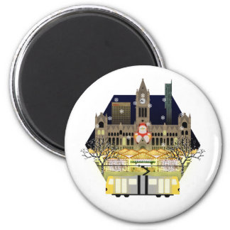 Manchester Christmas Markets Magnet