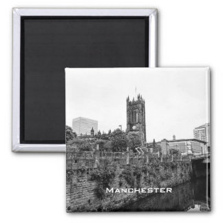 Manchester City Centre and Cathedral Magnet
