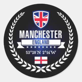 Manchester Classic Round Sticker