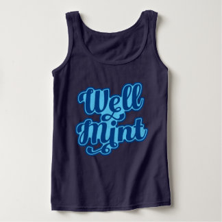 Manchester Dialect Well Mint Vest Top