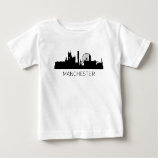 Manchester England Cityscape Baby T-Shirt