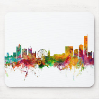 Manchester England Skyline Mouse Pad