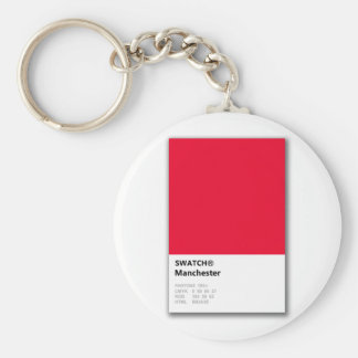 Manchester is RED Keychain
