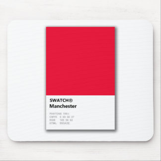 Manchester is RED Mouse Pad