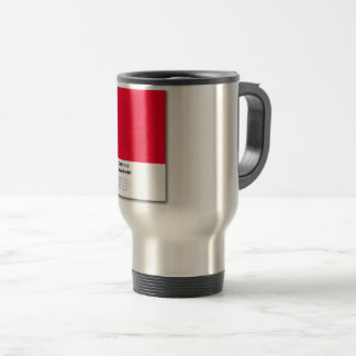 Manchester is RED Travel Mug