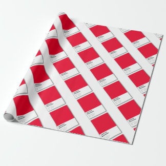 Manchester is RED Wrapping Paper