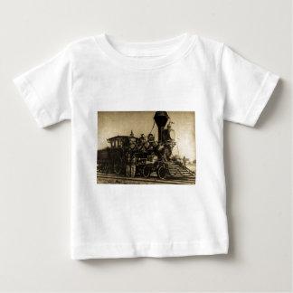 Manchester Locomotive Works Engine #55 Baby T-Shirt