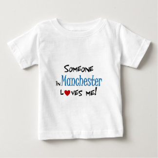 Manchester Love Baby T-Shirt
