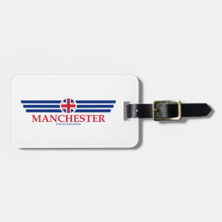Manchester Luggage Tag