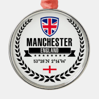 Manchester Metal Ornament