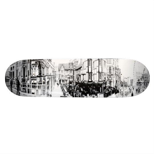 Manchester Shamble Square Custom Skateboard