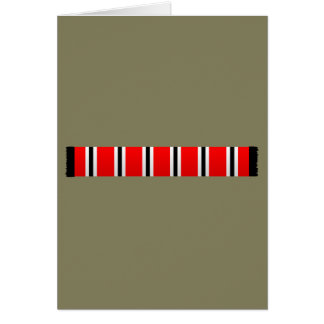 Manchester sporting red white and black bar scarf card
