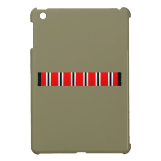 Manchester sporting red white and black bar scarf iPad mini cover