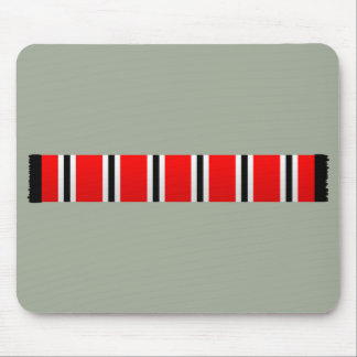 Manchester sporting red white and black bar scarf mouse pad