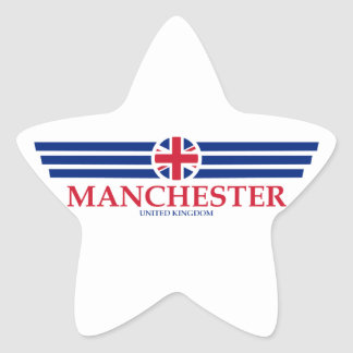 Manchester Star Sticker