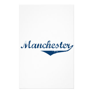 Manchester Stationery Design