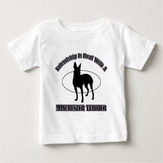 MANCHESTER TERRIER DOG designs Baby T-Shirt