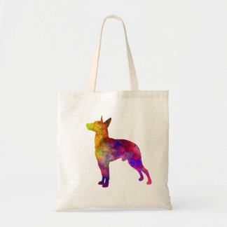 Manchester Terrier in watercolor Tote Bag