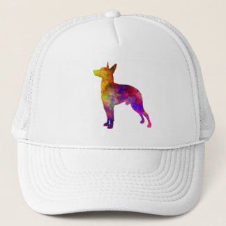 Manchester Terrier in watercolor Trucker Hat