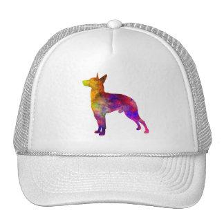 Manchester Terrier in watercolor Trucker Hat