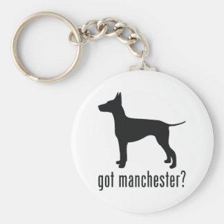 Manchester Terrier Keychain