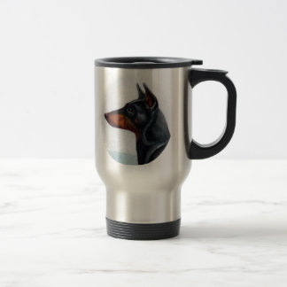 Manchester Terrier Portrait Mug