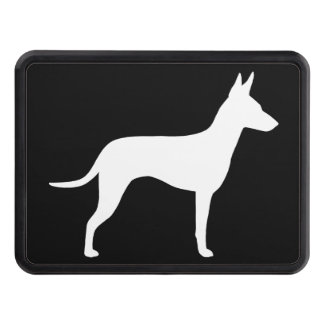 Manchester Terrier Silhouette Tow Hitch Covers