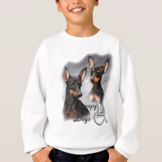 Manchester Terrier Therapy Dogs Sweatshirt