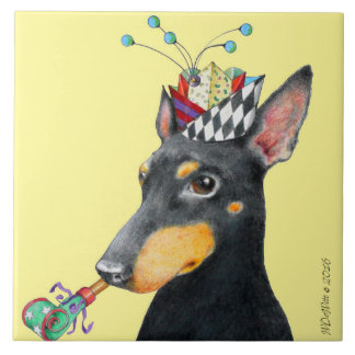 "Manchester Terrier Tile (6""x6"")"
