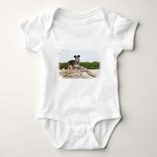 Manchester Terrier X - Jordan - Derr Baby Bodysuit