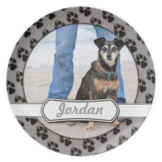 Manchester Terrier X - Jordan - Derr Dinner Plate
