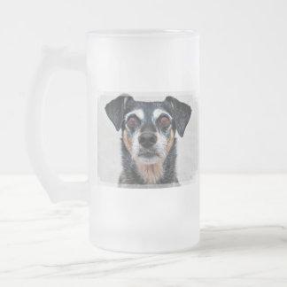 Manchester Terrier X - Jordan - Derr Frosted Glass Beer Mug