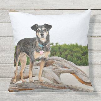Manchester Terrier X - Jordan - Derr Outdoor Pillow