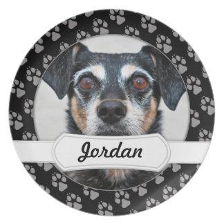 Manchester Terrier X - Jordan - Derr Party Plate
