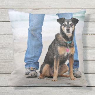 Manchester Terrier X - Jordan - Derr Throw Pillow