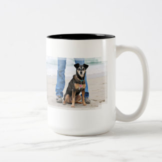 Manchester Terrier X - Jordan - Derr Two-Tone Coffee Mug