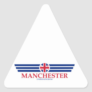 Manchester Triangle Sticker