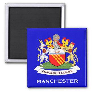Manchester*, U.K. Coat of Arms Magnet