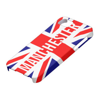 Manchester UK Flag Union Jack iPhone 5 Covers