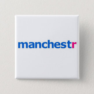manchestr flickr 2 inch square button