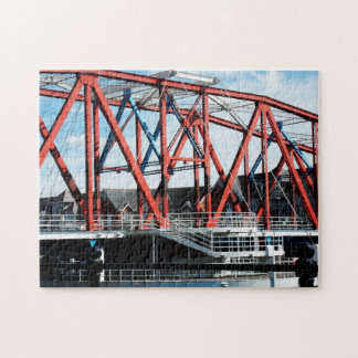Manchster Dockland Bridge. Jigsaw Puzzle