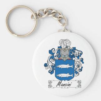 Mancini Family Crest Keychain