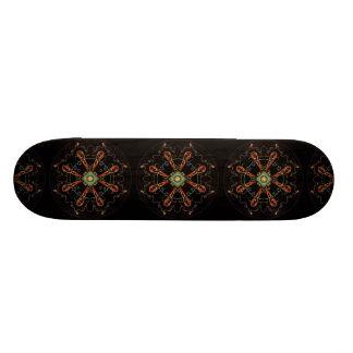Mandala - 0013 - The Raven and the Sea and Stars P Custom Skate Board