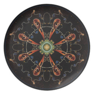 Mandala - 0013 - The Raven and the Sea and Stars P Plate